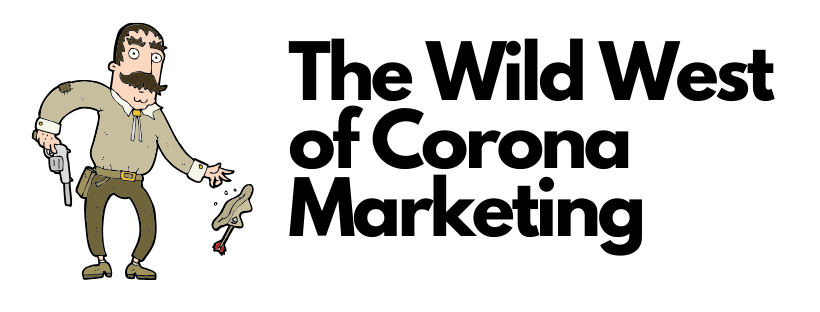 marketing in time of the corona, advertising in the time of corona, selling in the time of corona